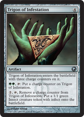 Trigon of Infestation - Foil