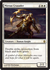 Mirran Crusader - Foil on Channel Fireball