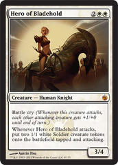 Hero of Bladehold - Foil on Channel Fireball