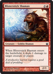 Blisterstick Shaman - Foil on Channel Fireball