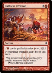 Ruthless Invasion - Foil