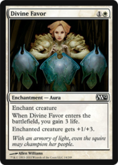 Divine Favor - Foil on Ideal808