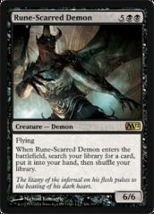 Rune-Scarred Demon - Foil