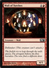 Wall of Torches - Foil