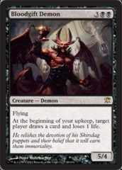 Bloodgift Demon - Foil on Channel Fireball