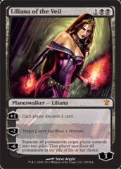 Liliana of the Veil - Foil on Channel Fireball