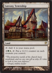 Gavony Township - Foil on Channel Fireball