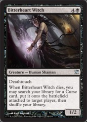 Bitterheart Witch - Foil on Channel Fireball