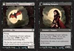 Screeching Bat // Stalking Vampire - Foil