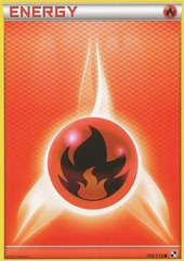 Fire Energy - 106/114 - Common - Reverse Holo