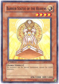 Barrier Statue of the Heavens - CDIP-EN023 - Common - Unlimited Edition