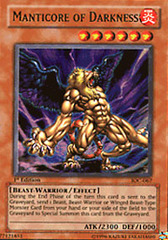 Manticore of Darkness - IOC-067 - Ultra Rare - Unlimited Edition