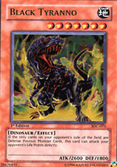 Black Tyranno - IOC-075 - Ultra Rare - Unlimited Edition on Channel Fireball