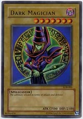Dark Magician - LOB-005 - Ultra Rare - Unlimited Edition
