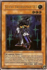 Silent Swordsman LV3 - RDS-EN009 - Ultimate Rare - Unlimited Edition