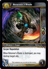 Retainer's Blade