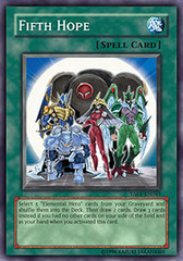 Fifth Hope - TAEV-EN045 - Super Rare - Unlimited Edition