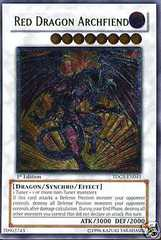 Red Dragon Archfiend - TDGS-EN041 - Ultimate Rare - Unlimited Edition