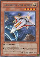 Lord British Space Fighter - SOVR-EN035 - Rare - Unlimited Edition