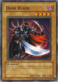 Dark Blade - 5DS1-EN004 - Common - Unlimited Edition