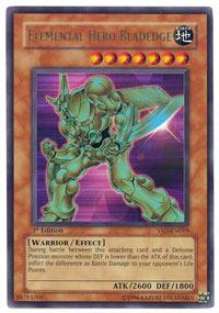 Elemental Hero Bladedge - YSD-EN019 - Ultra Rare - Unlimited Edition