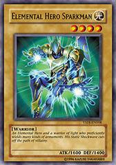 Elemental Hero Sparkman - YSDJ-EN008 - Common - Unlimited Edition