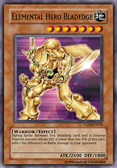 Elemental Hero Bladedge - YSDJ-EN018 - Common - Unlimited Edition