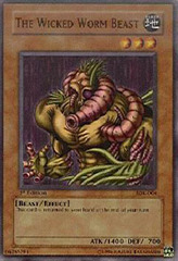 The Wicked Worm Beast - SDK-004 - Common - Unlimited Edition