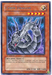 Cyber Dragon - Short Print Rare - DP04-EN001 - Unlimited