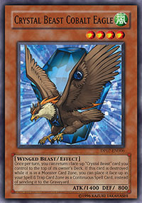 Crystal Beast Cobalt Eagle - DP07-EN006 - Common - Unlimited Edition
