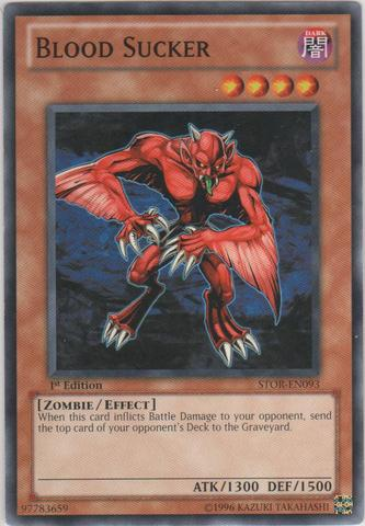 Blood Sucker - STOR-EN093 - Common - Unlimited Edition