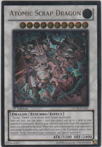 Atomic Scrap Dragon - STOR-EN043 - Ultimate Rare - Unlimited Edition