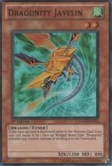 Dragunity Javelin - HA04-EN014 - Super Rare - Unlimited Edition