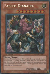 Fabled Dianaira - HA04-EN043 - Secret Rare - Unlimited Edition