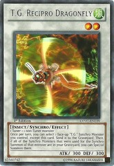 T.G. Recipro Dragonfly - EXVC-EN039 - Rare - Unlimited Edition
