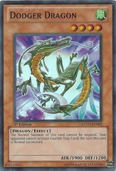 Dodger Dragon - EXVC-EN082 - Super Rare - Unlimited Edition