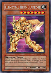 Elemental Hero Bladedge - DP03-EN002 - Rare - Unlimited Edition