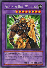 Elemental Hero Wildedge - DP03-EN010 - Rare - Unlimited Edition