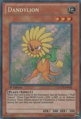 Dandylion - LCGX-EN042 - Secret Rare - 1st Edition