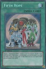 Fifth Hope - LCGX-EN098 - Secret Rare - 1st Edition