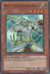Wulf, Lightsworn Beast - LCGX-EN248 - Ultra Rare - 1st Edition
