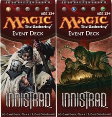 Innistrad Event Decks: Set of 2 on Channel Fireball