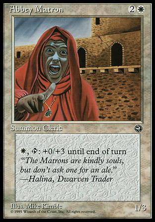 Abbey Matron (Quote Halina, Dwarven Trader)