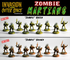 Invasion from Outer Space : Zombie-Martians