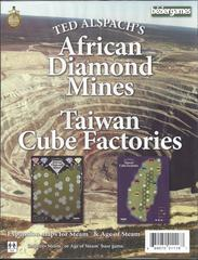 Age of Steam Expansion: African Diamond Mines & Taiwan Cube Factories