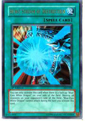 Burst Stream of Destruction - AST-038 - Ultra Rare - 1st Edition