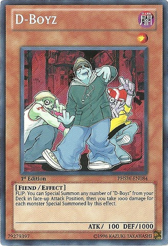 D-Boyz - PHSW-EN084 - Secret Rare - 1st Edition