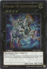 Number 10: Illumiknight - PHSW-EN041 - Ultimate Rare - 1st Edition