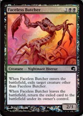 Faceless Butcher - Foil on Channel Fireball