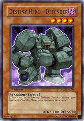 Destiny Hero - Defender - DP05-EN006 - Rare - Unlimited Edition on Channel Fireball